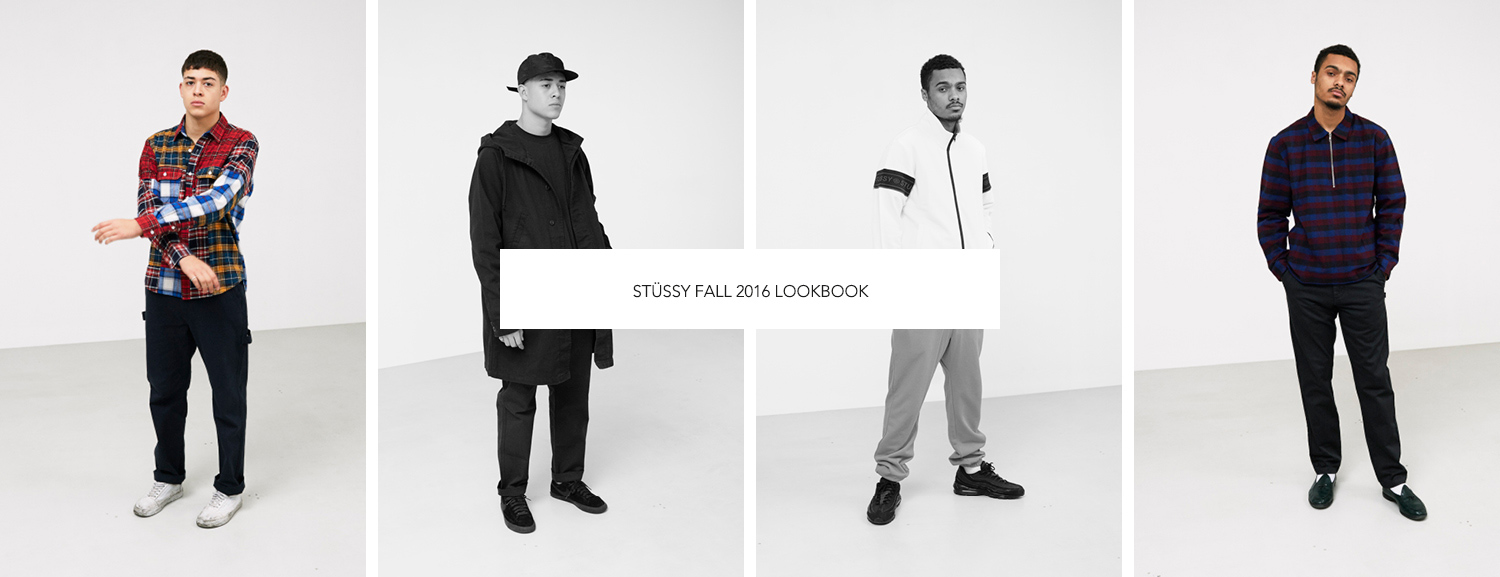Stüssy Fall 2016 Lookbook