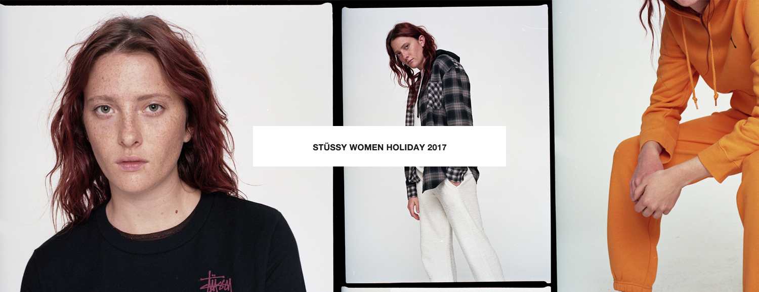 Stussy Holiday 2017 Womens Lookbook