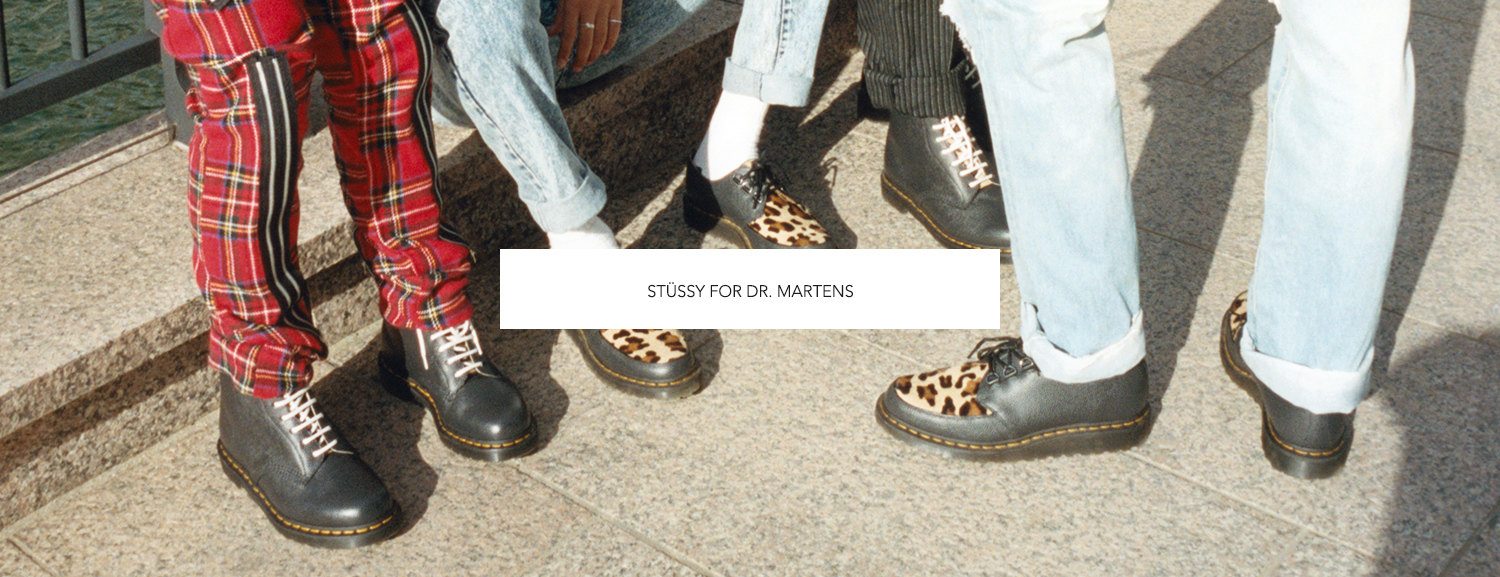 STÜSSY FOR DR. MARTENS