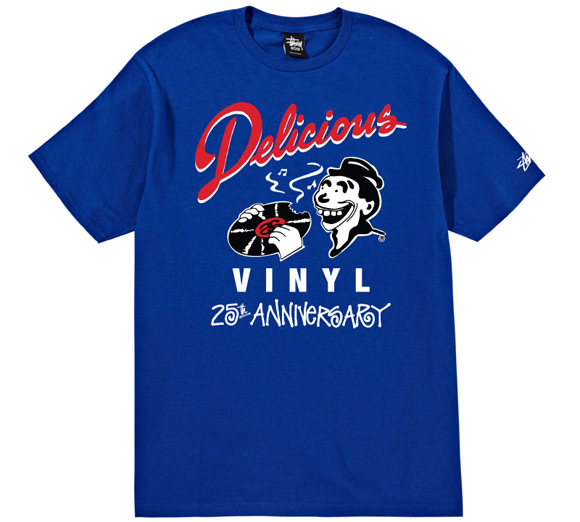 Stussy x Delicious Vinyl   25th Anniversary Collection