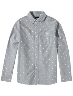 Stars Oxford L/SL Shirt
