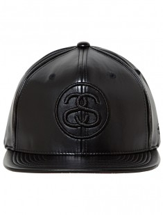 SS Link Leather Ballcap