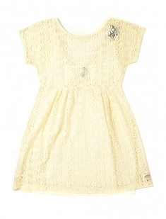 Lace Empire Dress