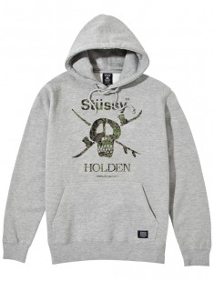 Holden Camo Snow Skull Hooded Pullover