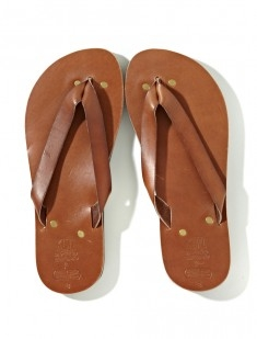 Kiwi Leather Sandal