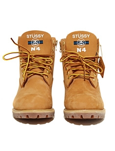 Stussy x Timberland 6-inch Boot