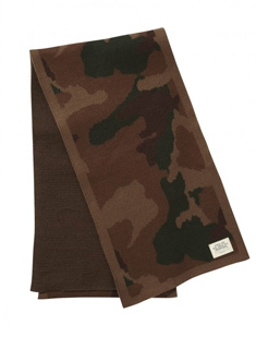Rugged Camo Scarf