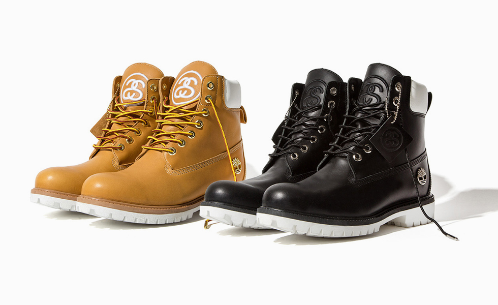 Stüssy and Timberland Boots Collaboration –